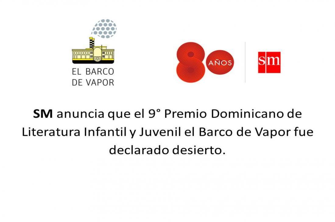 9° Premio Dominicano de Literatura Infantil y Juvenil el Barco de Vapor