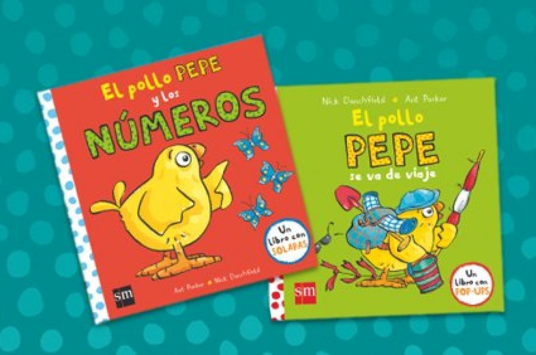 El Pollo Pepe, el favorito de los lectores más pequeños
