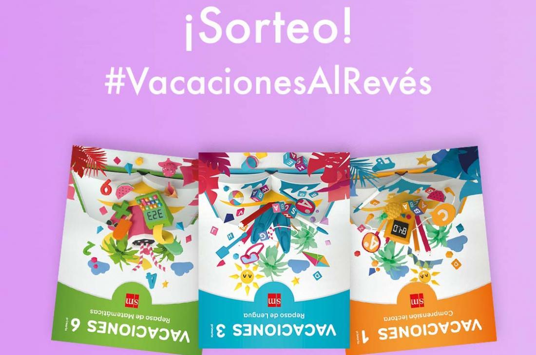 Participa en el sorteo #VacacionesAlRevés
