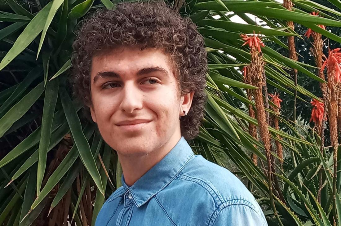 César Carrasco, ganador del XVI Premio Jordi Sierra i Fabra para Jóvenes