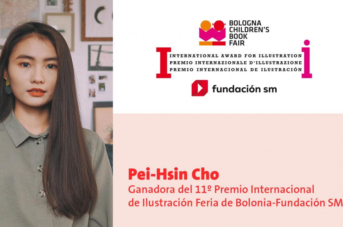 La taiwanesa Pei-Hsin Cho, ganadora del 11º Premio Internacional de Ilustración Feria de Bolonia-Fundación SM