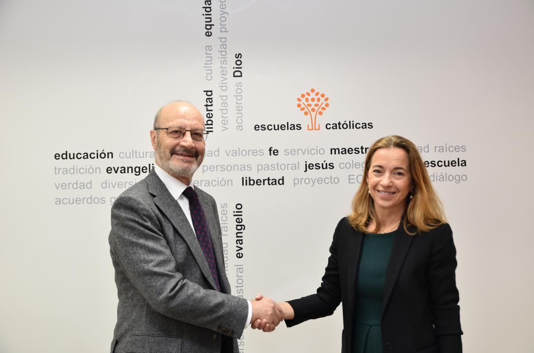 Firma acuerdo Escuelas Católicas y PPC