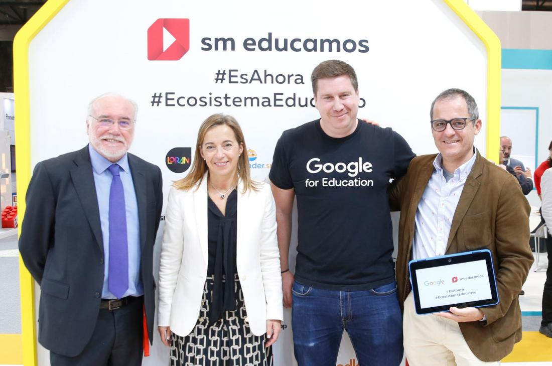 Acuerdo Google for Education y SM Educamos