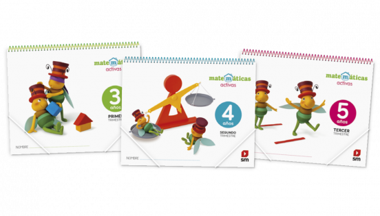 material alumno proyectos matematicas activas infantil