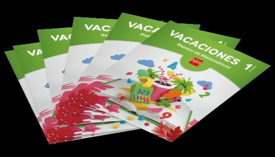 Cuadernos de vacaciones SM - Matemáticas