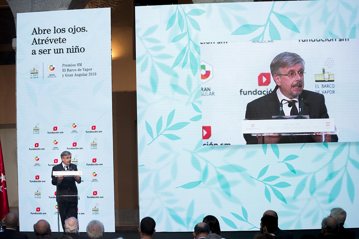 Intervención de Luis Fernando Crespo, presidente de SM