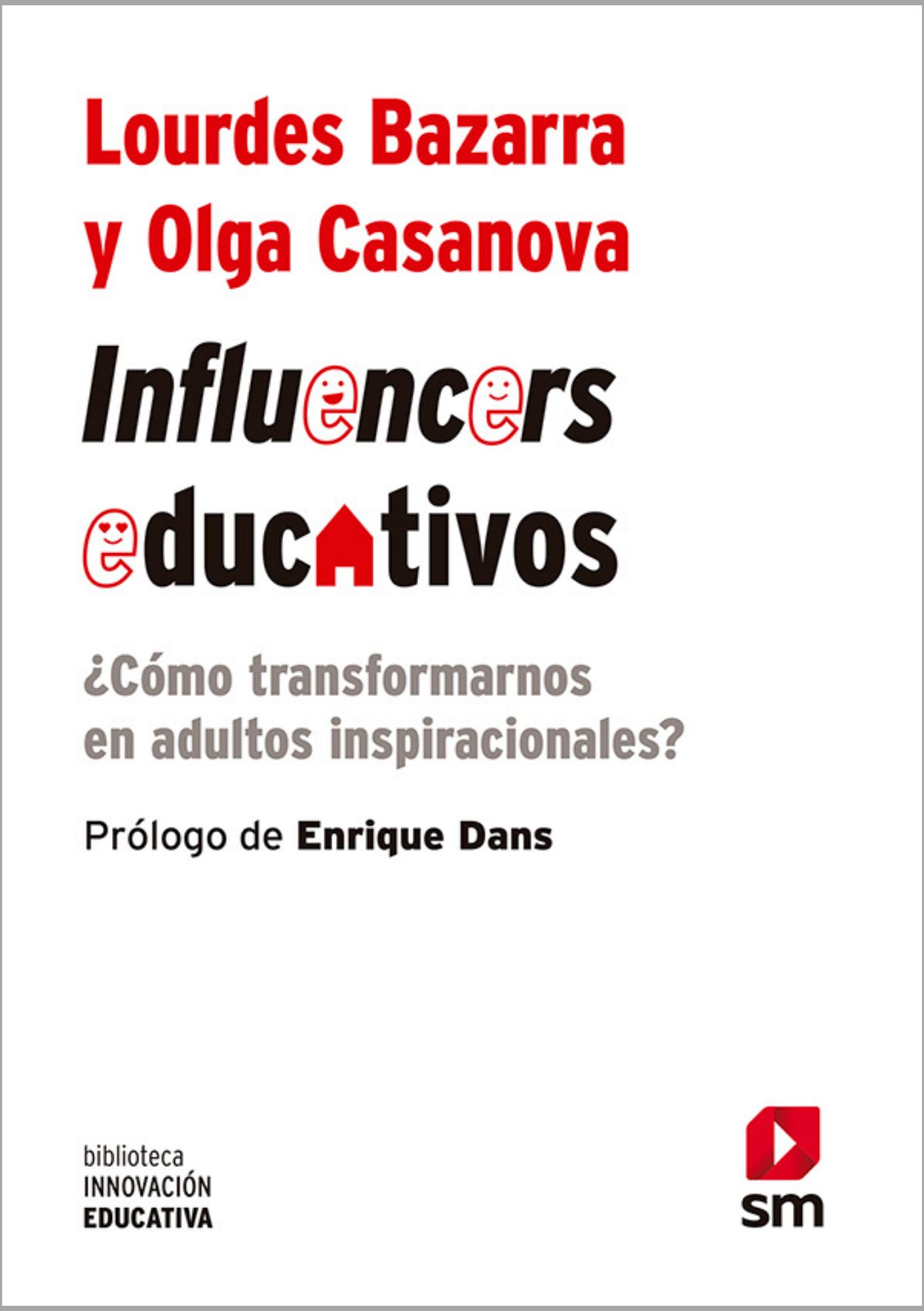 Coberta d'Influencers educativos, un llibre de Lourdes Bazarra i Olga Casanova